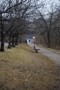 Photo by Miranda Costa | DSTV. Clear skies overlook the South Side segment of the Three Rivers Heritage Trail. A one-mile extension that will run through Aspinwall is coming soon.