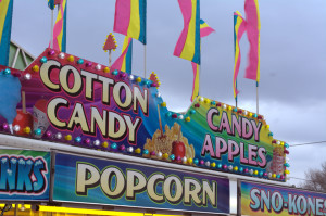 (Richard Kresock / For the Duquesne Duke)- Food carts and other amusement amenities were found at Midway on Friday, April 11 for Carnegie Mellon University's annual Carnival, which celebrated its 100th anniversary this year.