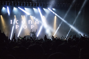 (Fred Blauth / The Duquesne Duke)- Icona Pop was the opening act for the Activities Board Spring Carnival Concert, which was held Friday evening. Headlining the show was local rapper Mac Miller, who debuted three new songs at the show.