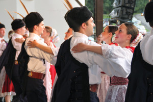 (Claire Murray / Photo Editor) - The first dance of the show at Hartwood Acres was a Hungarian dance.