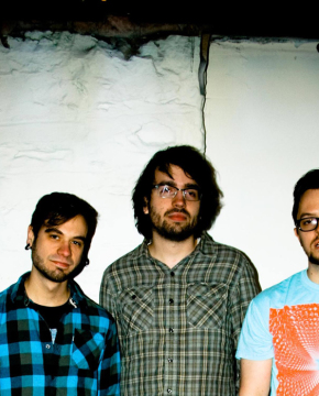 Courtesy of  Jeremy Zerbe: (Pictured left to right) - Bassist Dane Gaydosh, drummer Tyler Donaldson and vocalist and guitarist Jeremy Zerbe of Girl Scout.