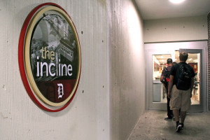Photo by Claire Murray | Photo Editor. The Incline, formerly known as the Off Ramp, opened Tuesday in the Union.