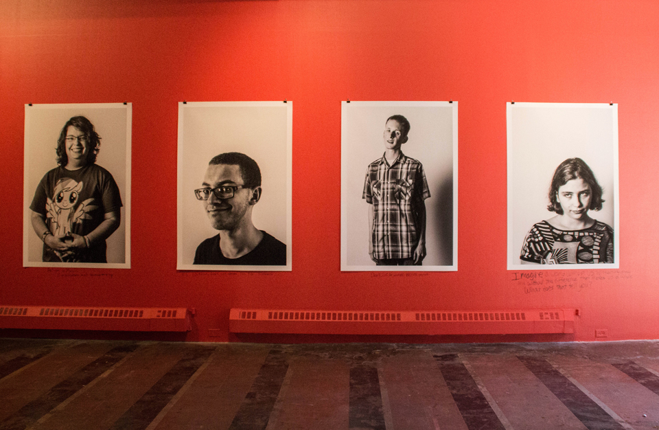 (Claire Murray / Photo Editor) Aspirations, created by photographer Martha Rial, looks at the life goals of eight young adults with Aspergers Syndrome.