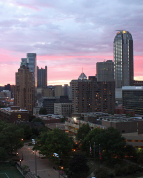 Photo by Claire Murray | Photo Editor. In 2013, Duquesne contributed more than $457 million to Pittsburgh's economy.