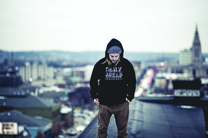Courtesy Photo - Duquesne graduate Brennan Peirson now does a series of photography and film work for local hip-hop acts as well as work on his own music.
