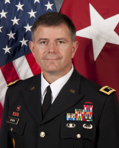 Courtesy Photo. Lew Irwin was promoted to Major General in the U.S. Army Reserve.