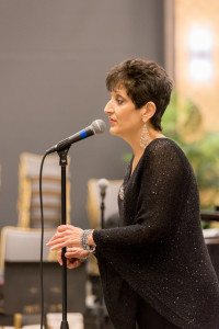 Courtesy Photo. Duquesne professor Maureen Budway performs at the Great American Songbook concert in November. Budway, who battled breast cancer, died Jan. 12.
