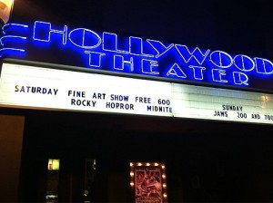 Courtesy Photo. The Hollywood Theater shows many independent and cult classic films.