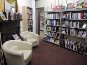 """Photo Courtesy of The Book Cellar Due to not having to deal with overhead costs, every cent """"The Book Cellar"""" makes goes toward the library."""