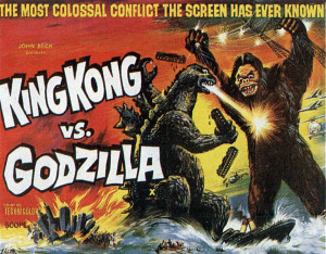 "Courtesy of Toho Co. Ltd. ""Godzilla vs. Kong"" will be the second time the two titans of cinema have clashed"