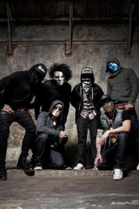"""Courtesy of Hollywood Undead. Los Angeles rock-rap group Hollywood Undead brought its latest tour to Stage AE Sunday. They are touring in support of their fourth album, """"Day of the Dead."""""""