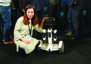 """While robots like this one, the """"Segway Robot"""" presented in Las Vegas on Jan. 6, may one day have the capabilities to teach, that's no excuse for disrespecting any human professors out there now."""