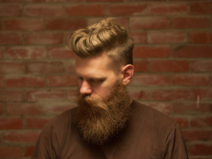Courtesy of The Urban Beardsman - Pictured is Eric Bandholz, the founder of Beardbrand, a beard care company that sells products like beard oil and beard shampoo.