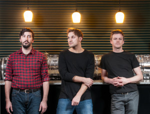 """Courtesy of Josh Verbanets (left to right) Aaron Bubenheim, Josh Verbanets and Matt Miller make up Meeting of Important People, a band that has gained a large following in Pittsburgh. They released their new album, """"Troika,"""" in February."""