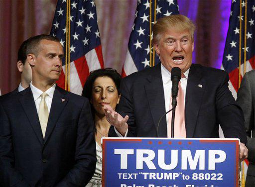 Donald Trump, Corey Lewandowski