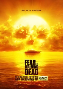 """Courtesy of AMC Studios Season 2 of """"Fear the Walking Dead"""" will have double the number of episodes of the previous season, going from 6 to 15."""