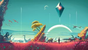 "Courtesy of Hello Games First announced in 2013, ""No Man's Sky"" promised a near-infinite universe for players to discover. Unfortunately, many gamers were underwhelmed with the final product, leading to low user reviews."