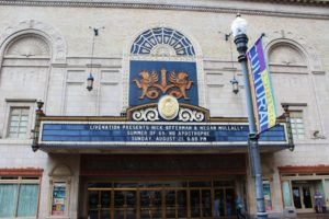 Kailey Love |Photo Editor The Cultural District unveiled new security rules, which will begin on Oct. 1. Affected locations include the Benedum Center, Byham Theater, the Caberet at Theater Square and the August Wilson Center.