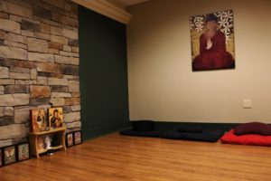 Kailey Love | Photo Editor A meditation room in Fisher Hall. The newly formed Student Center for Wellbeing offers new benefits for students seeking assistance for mental health problems.
