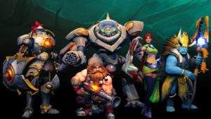 "Courtesy of Hi-Rez Studios Several of the characters from ""Paladins"" have been deemed rip-offs of ""Overwatch"" characters, whether it be by appearance or play-style."