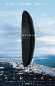 "Courtesy of FilmNation Entertainment The posters for ""Arrival"" depict the aliens' ships, known as shells, over various Earth locales."