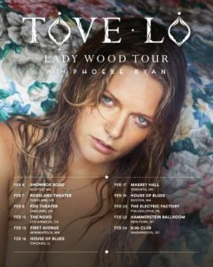 "Courtesy of Golden Age Studios ""Lady Wood"" is Tove Lo's second studio album. Prior to its release, Lo announced a 21-date tour to promote ""Lady Wood."""