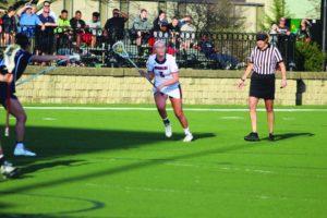 Bry McDermott | Asst. Photo Editor | Freshman midfielder Rilee Bradshaw scored her first collegiate goal on Wednesday against No. 6 Penn State.
