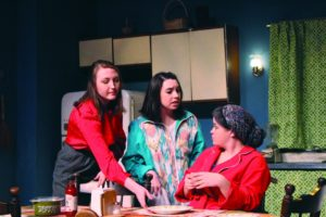 """Courtesy of The Red Masquers The Red Masquers put on multiple shows per semester, """"Rust"""" being the first of their Spring 2017 season. Last fall, they put on """"Avenue Q"""" and """"How I Learned to Drive,"""" as well as a series of unique one-acts for """"Premieres XL."""" """"Rust"""" runs till Feb. 26."""