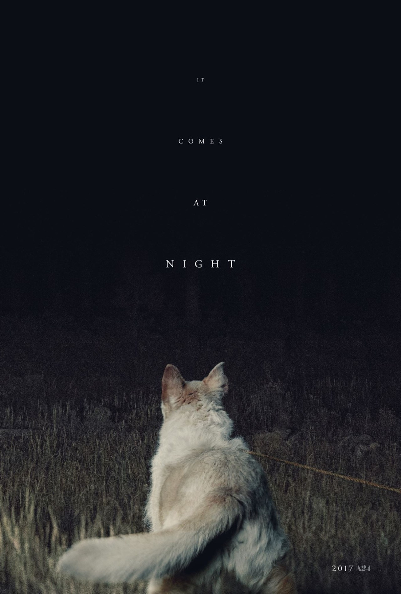 It Comes at Night promotional poster