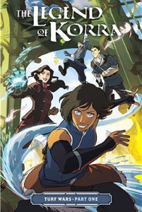 Cover of 'The Legend of Korra: Turf Wars'