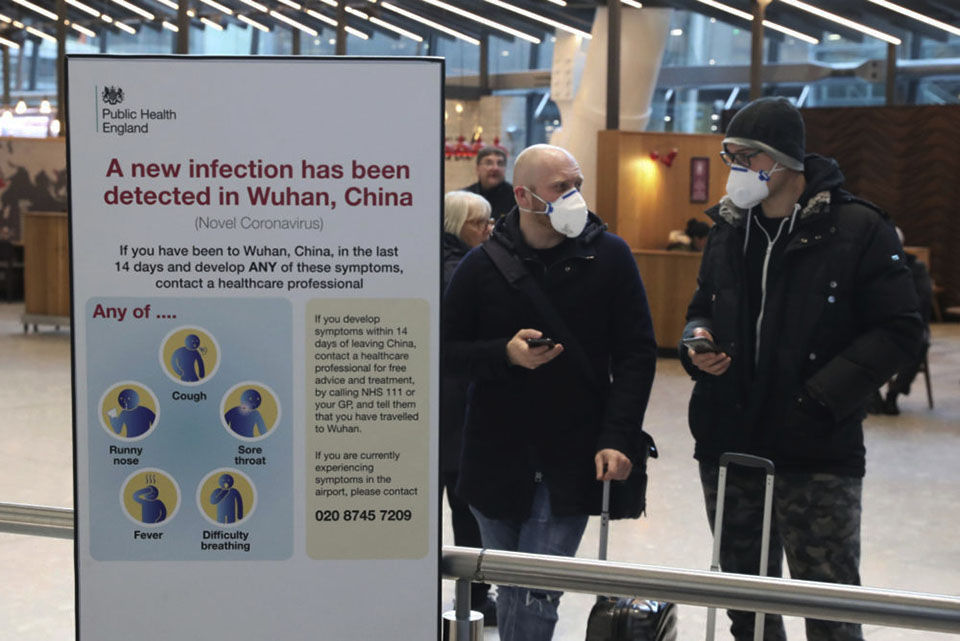 Britain China Outbreak
